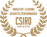 Testing at CSIRO sound labs at Monash University revealed GLYDE Acoustic Sliders offer industry-leading acoustic performance