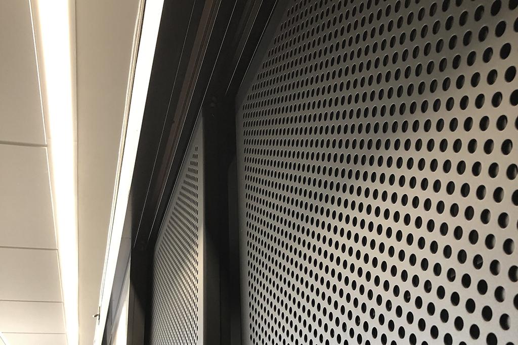 GLYDE sliding decorative screen system