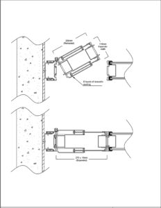 operable wall expander panel drawing