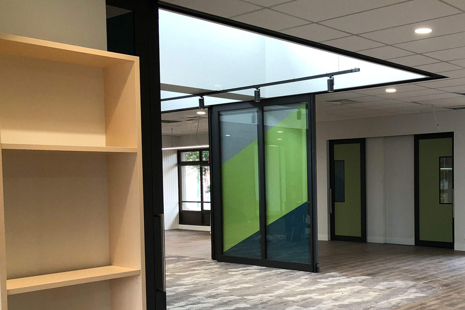 primary school acoustic sliding door systems